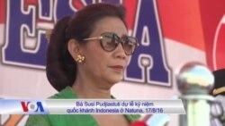 Indonesia xác nhận quan chức Việt tới đảo Natuna giáp biển Đông