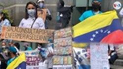 """委内瑞拉国内外的委内瑞拉人民通过""""人民的选票""""公投"""