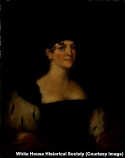 Elizabeth Monroe, courtesy White House Collection/White House Historical Association