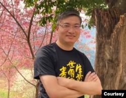 台湾香港协会理事长桑普 (桑普提供)