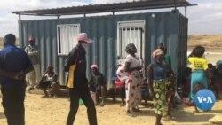 Benguela: Famílias desalojadas em manifestação pelo direito à terra