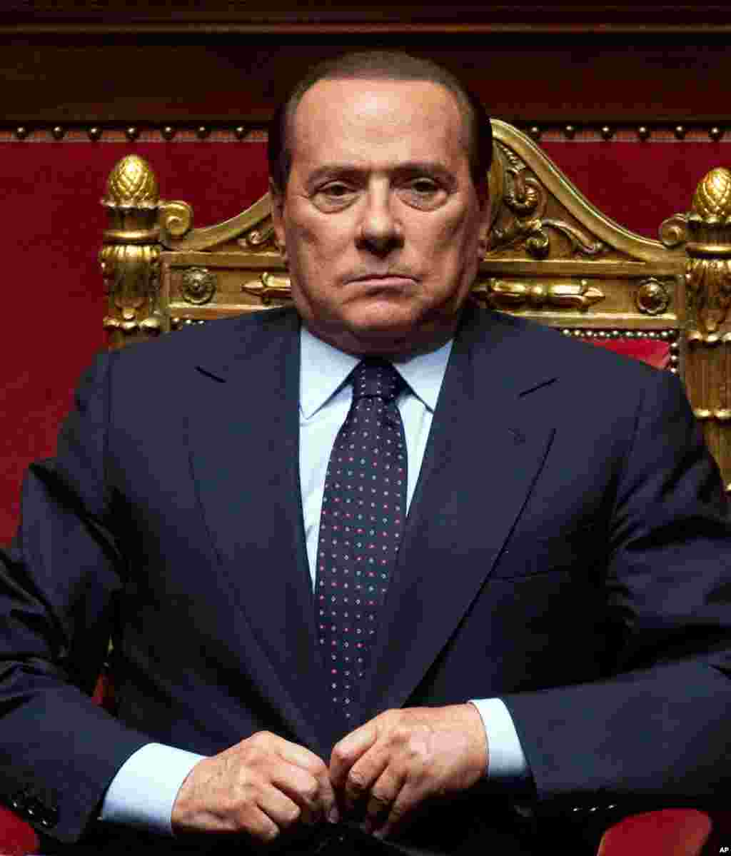 Forbes ranks Silvio Berlusconi as #21 on the list of world's most powerful people, and #118 on the list of world's richest people, with an estimated net worth of $6.2 billion as of November, 2011. (AP Photo)