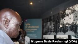 Une cérémonie de commémoration du génocide rwandais à Kigali, octobre 2014.