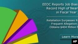 美国平等就业机会委员会网站上相关报告的图示和标题