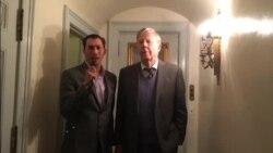 VOA Lao interview Mr. Frank Albert at Lao Embassy in Washington DC