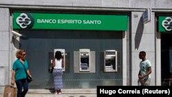 Agência do Banco BES em Lisboa, Portugal