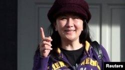 Giám đốc tài chính của Huawei, bà Mạnh Vãn Chu.