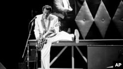 Легенда рок-н-ролла Чак Берри (1926-2017)