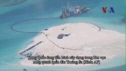 Mỹ đề nghị ngưng hoạt động xây dựng ở Biển Đông