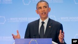 Trong bài diễn văn vào ngày cuối cùng của hội nghị, Tổng thống Obama kêu gọi các nước tham gia cuộc chiến chống lại chủ nghĩa cực đoan bạo động.