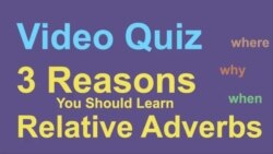 EG Quiz Q2 Adverbs