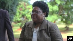 Vice President Joice Mujuru