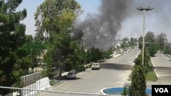 در یک ماه گذشته این دومین حمله بر مسجد عیدگاه شهر لشکرگاه می باشد