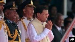 Presiden Sri Lanka Maithripala Sirisena (Foto: dok. AP)