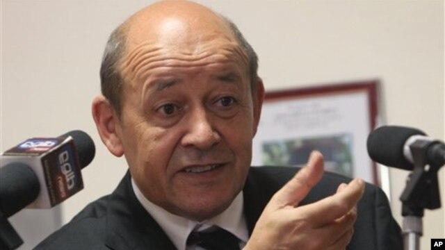 장 이브 르 드리앙 프랑스 국방장관 (자료사진)