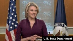 Juru bicara Departemen Luar Negeri Amerika Serikat, Heather Nauert. (Foto: dok).