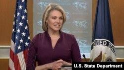 محکمہ خارجہ کی ترجمان ہیدر نوئرٹ