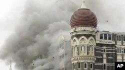 印度孟买著名的泰姬灵饭店遭到枪手攻击