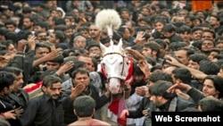 成千上万什叶派穆斯林庆祝阿舒拉节