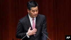 Pejabat Hong Kong, Leung Chun-ying membela keputusan untuk membiarkan Edward Snowden meninggalkan Hong Kong (foto: dok).