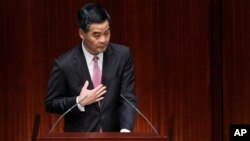 Глава Гонконга Лян Чжэньин