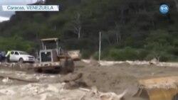 Son Yağışlar Venezuela'yı Sular Altında Bıraktı