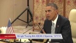 Tổng thống Mỹ tới Lào, trấn an các nước Đông Nam Á