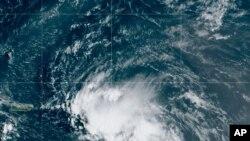 Сателитска снимка од Лаура