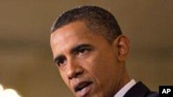 اوباما: آمریکا د اسلام سره په جګړه کې نده