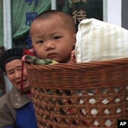 中国很多儿童是独生子女