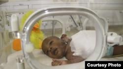 Kupawawashe Chitiyo after surgery
