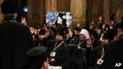 უკრაინელ მართლმადიდებელთა გამაერთიანებელი კრება სოფიას ტაძარში