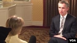 Generalni sekretar NATO-a Jens Stoltenberg Vašington, 26. mart, 2015.