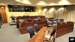 海牙国际战争法庭(资料照片)