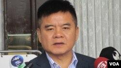 台湾执政党民进党立委莊瑞雄(美国之音张永泰拍摄)