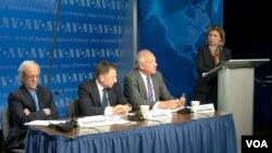 美國的烏克蘭問題特使沃爾克(資料圖片)