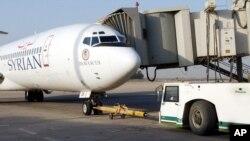 Авиалайнер Boeing 727 национального сирийского перевозчика Syrian Airlines
