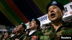 Hàn Quốc gửi khoảng 320.000 quân nhân sang Việt Nam trong thời gian chiến tranh. REUTERS/Jo Yong-Hak