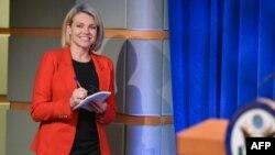 خانم ناوئرت از دو سال پیش سخنگوی وزارت خارجه آمریکا شده بود.