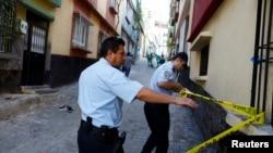 عکس تزئینی از انفجاری در ترکیه