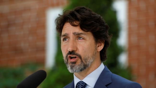 资料照:加拿大总理特鲁多
