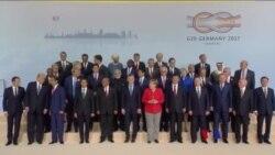 G20峰會匯聚棘手問題 大國矛盾(粵語)