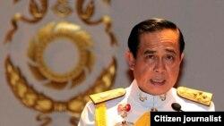 Pemimpin junta militer Thailand, Jenderal Prayuth Chan-ocha.