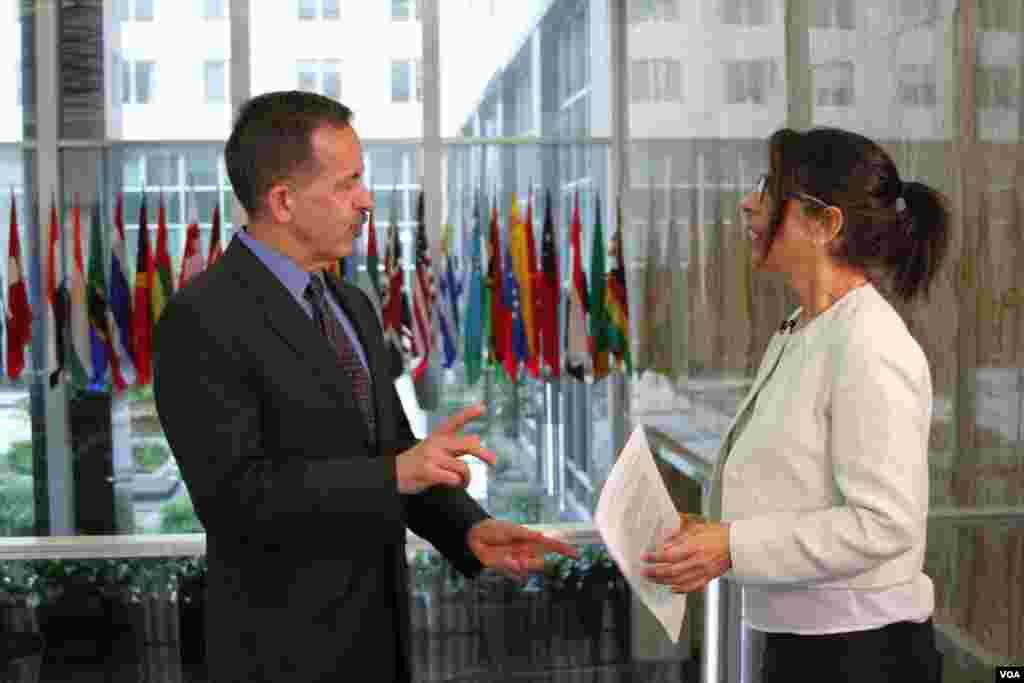 استیون مال، هماهنگ کننده ارشد وزارت خارجه آمریکا در اجرای توافق هسته ای