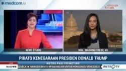 Laporan Langsung VOA untuk Metro TV: Pidato Kenegaraan Presiden Donald Trump