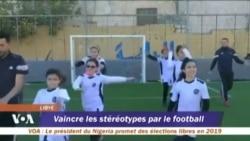 Premier centre féminin de formation de football à Tripoli