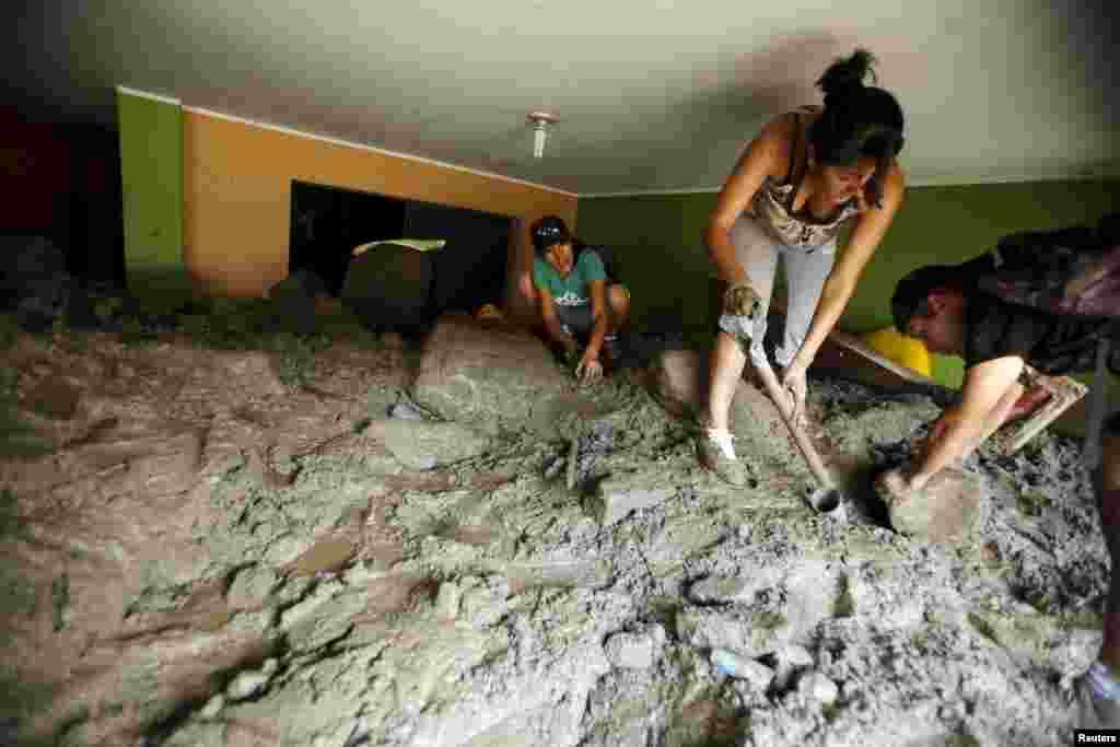 Peruda yer sürüşməsi baş verib
