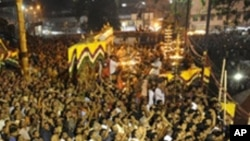 Festa religiosa na Índia (foto de arquivo)