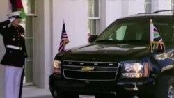 Средба на претседателот Трамп со јорданскиот крал Абдула