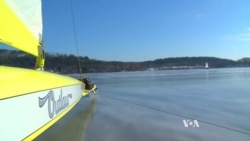 Frozen Ponds? No Problem! Let's Go Ice Boating!